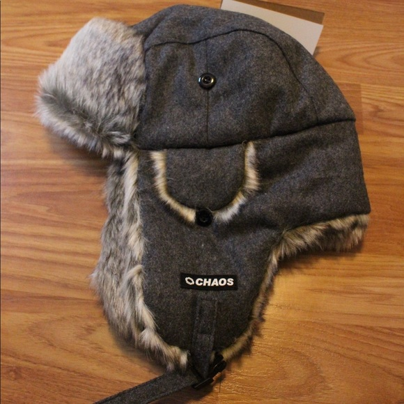1f0a20d1f7ea9 Chaos Dylon Wool Blend Trapper Hat